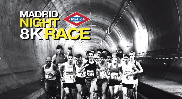 Metro Madrid Night Raceee